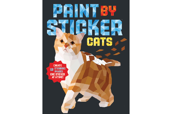 Paint by Sticker: Cats.