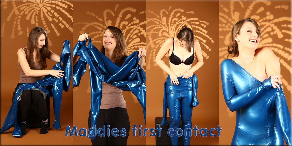 Maddy- first contact mit Latex