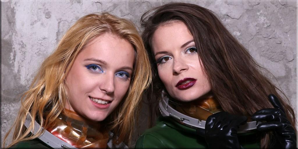 Alice und Edda im Jetfighter