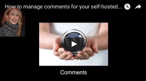 manage comments