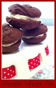 Chocolate whoopie pie recipe - quick and tasty