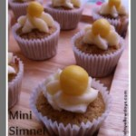 Mini Easter Simnel Cupcakes
