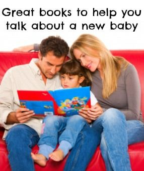 Great books to help you talk about a new baby