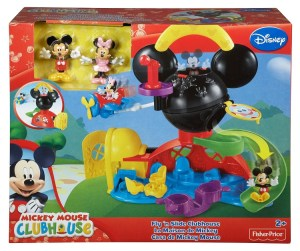 mickey mouse Fly and slide clubhouse