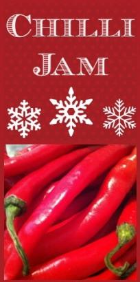 Homemade Chilli Jam Recipe- A great Christmas gift.