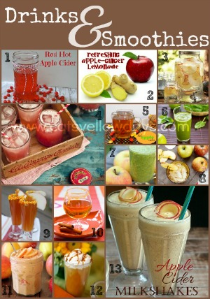 Apple Drinks and Smoothies Recipes