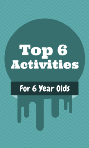 Top 6 Fun Activities for 6 Year Olds - Yellow Days