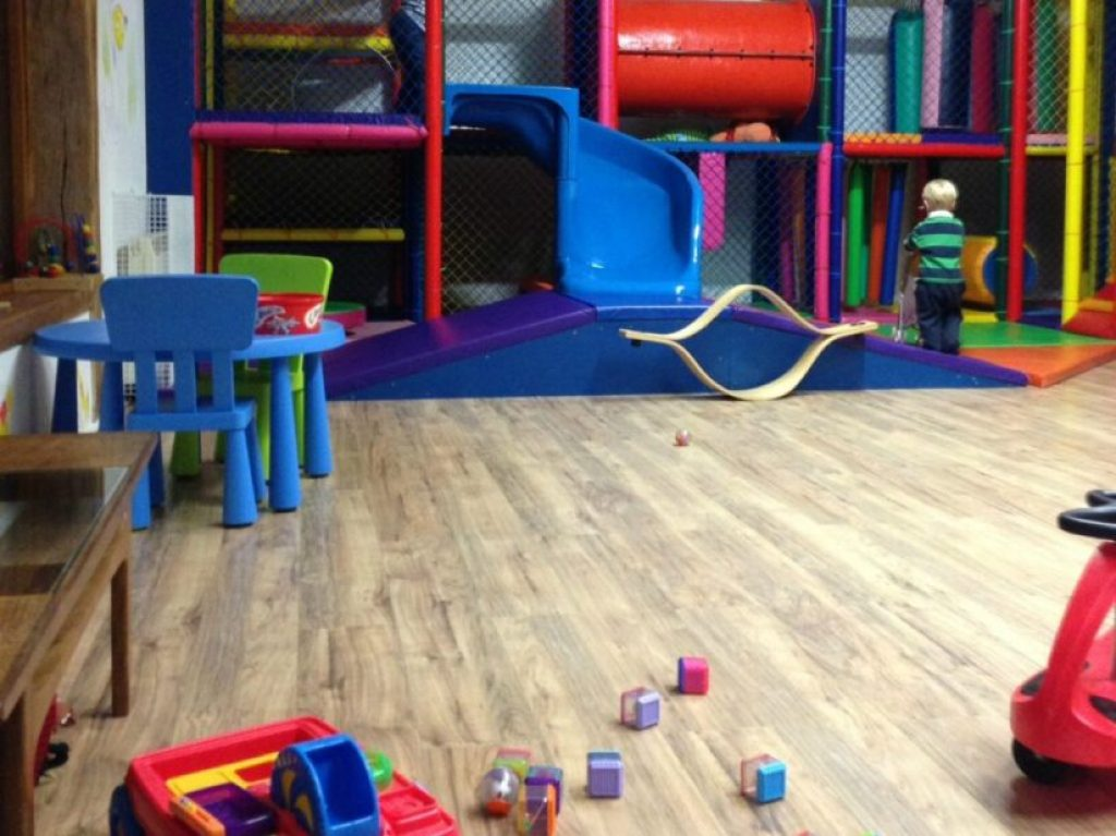 Play barn at Bosinver Farm Cottages - Luxury Self Catering in Cornwall