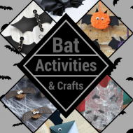 10 Bat Crafts & Activities for Halloween