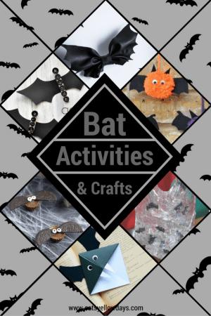 10 Halloween Bat Crafts and Activities for Halloween