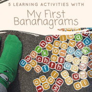 5 Super Fun Learning Activities with My First Bananagrams