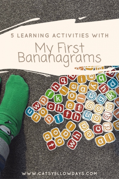 5 Learning Activities with My First Bananagrams