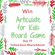 Win an Articulate for Kids game from Drumond Park