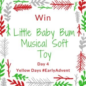 Win a Little Baby Bum Musical Soft Toy #EarlyAdvent