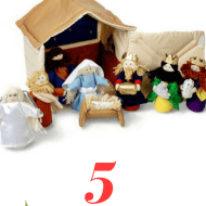 5 Child friendly nativity scenes for Advent