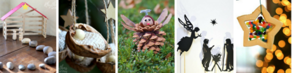 Christian Christmas Crafts - a collection of my 10 favourite religious Christmas crafts for kids to help you connect with the real meaning of Christmas.