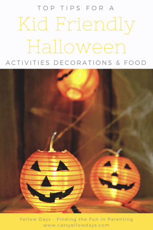 My round up of kid friendly Halloween activities, decorations and food