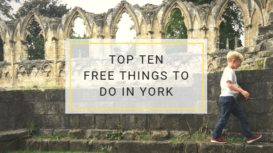 Top ten free things to do in york