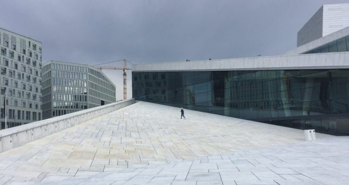 Things to do in Oslo with kids - The Opera House