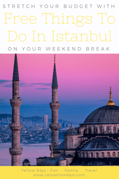 Free things to do in Istanbul - All the best places to visit and things to see if you want to visit Istanbul on a tight budget.