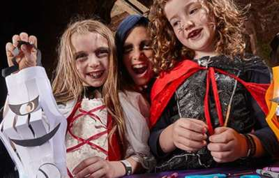 family halloween events - Kenilworth castle