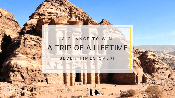 Win a trip of a lifetime seven times over!