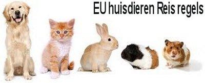 Europese reisregels voor huisdieren