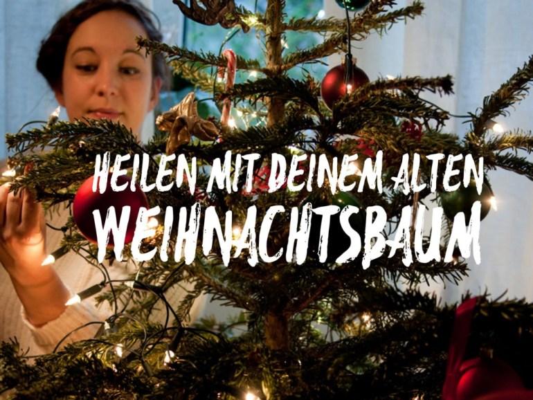 heilen mit weihnachtsbaum