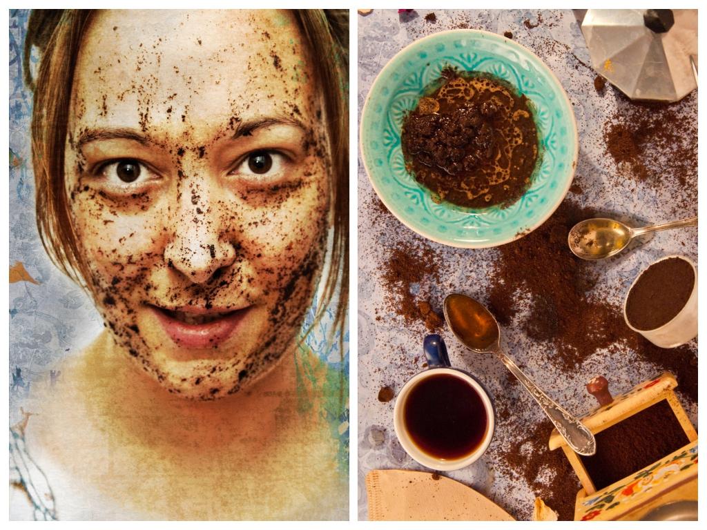 Kaffee Maske