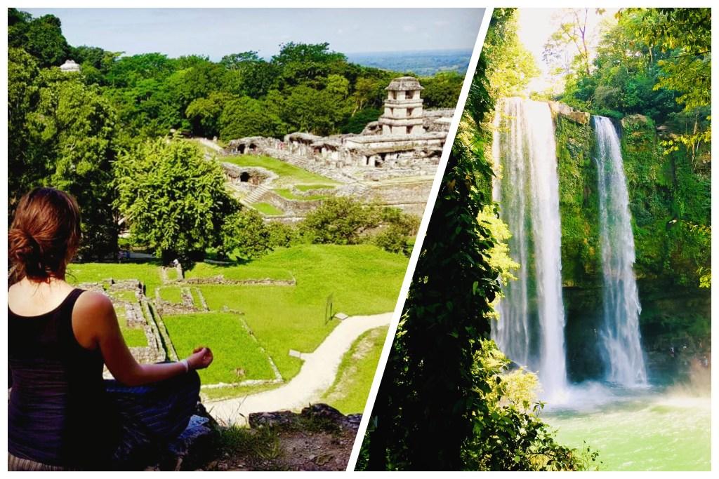 Palenque Reise durch Mexiko