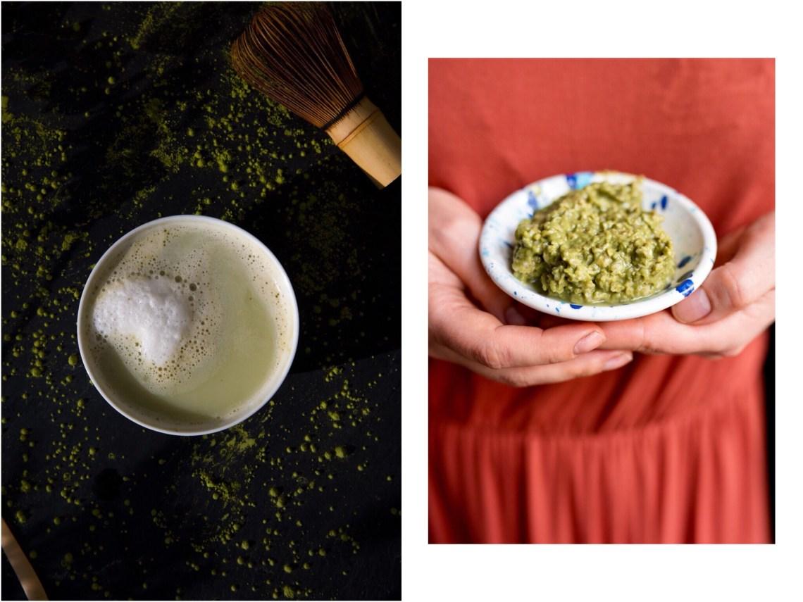 Maske mit Matcha Tee selber machen