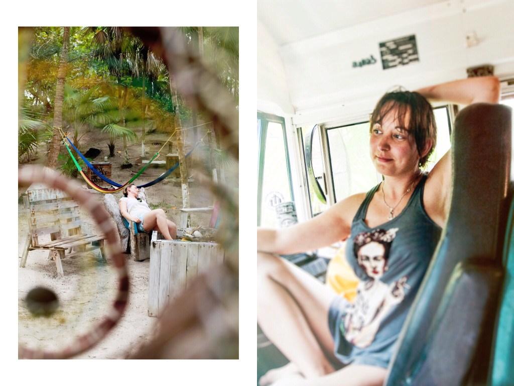 Bus Hippie chic Tulum