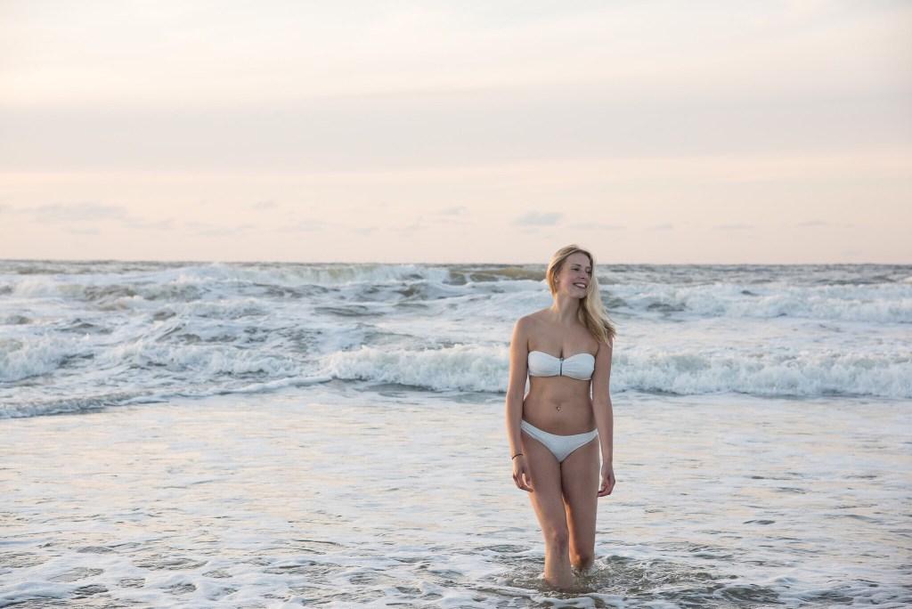 Mädchen im Wasser Norderney