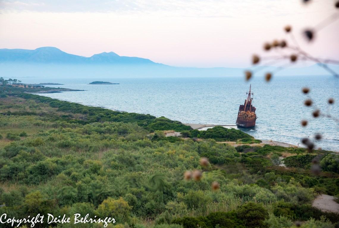 Gythio shipwreck Bay