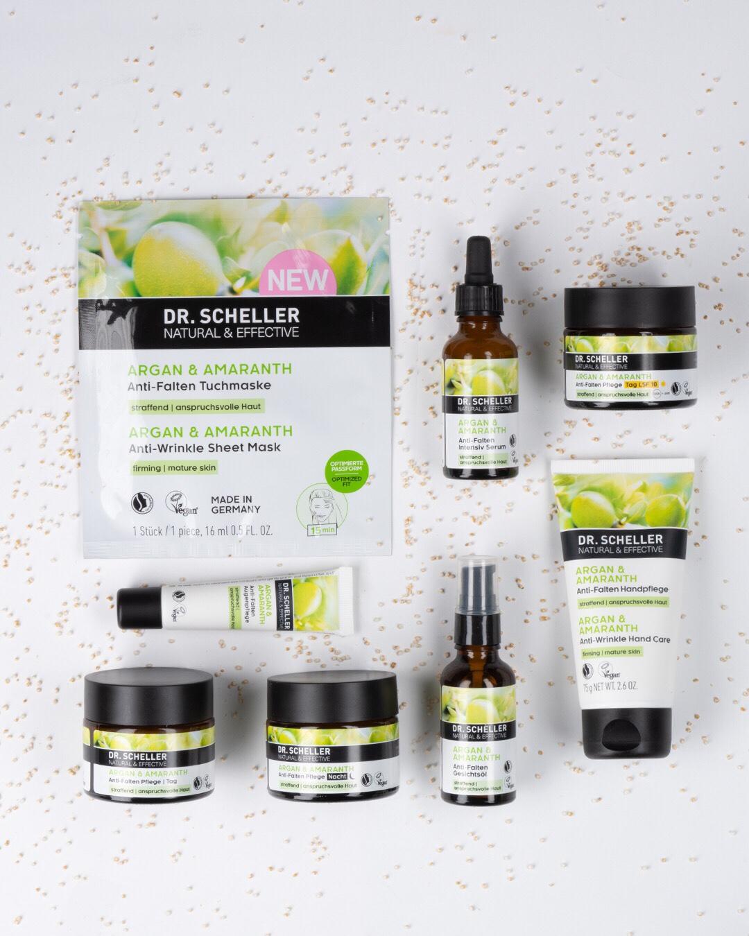 Gewinnspiel Kosmetik Creme dr Scheller