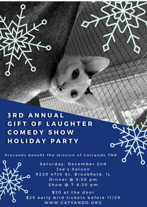 4th Annual The Gift of Laughter, A Comedy Show – Catvando.org