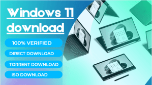 Read more about the article Windows 11 Download Torrent 100% Verified (32bit and 64bit) Download For Free