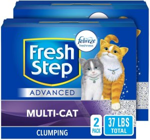 Fresh Step Advanced Multi-cat Clumping Cat Litter