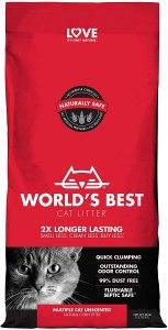 Love World's Best Cat Litter, 28-Pounds