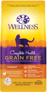 Wellness Grain Free Salmon & Herring Indoor Dry Cat Food