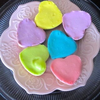 Heart-Shaped Cheesecakes