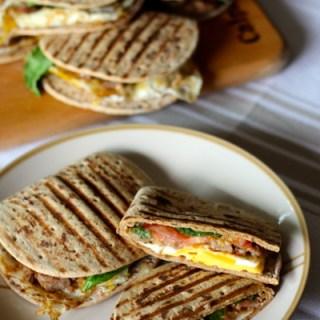 Foldit Breakfast Panini
