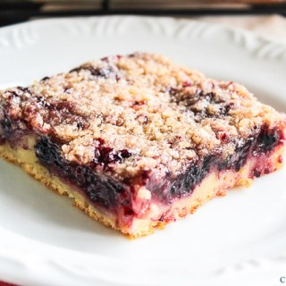 Blackberry Coffee Cake with Streusel Topping