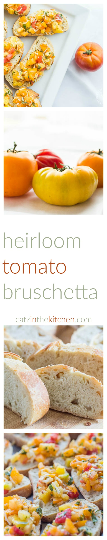 Heirloom Tomato Bruschetta Long Pin
