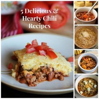 5 Delicious and Hearty Chili Recipes