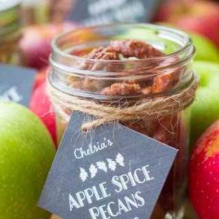 Apple Pie Spice Pecans