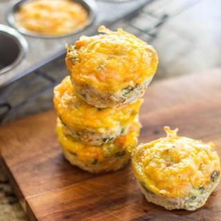 Skinny Veggie Egg Muffins
