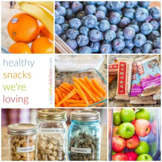Healthy Snacks We're Loving