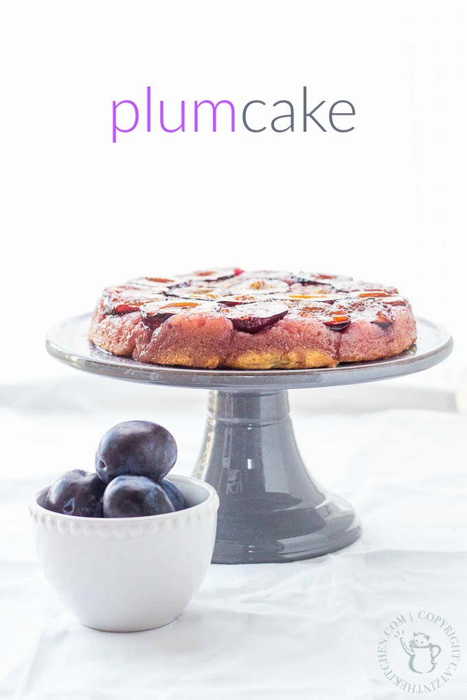 "This recipe for French plum cake, also known as a ""tatin"" will surprise and delight your palette! It's the perfect way to showcase this special fall fruit!"