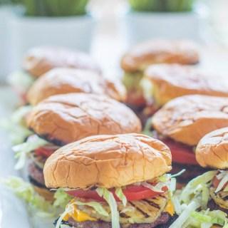 Banzai Burgers for a Crowd